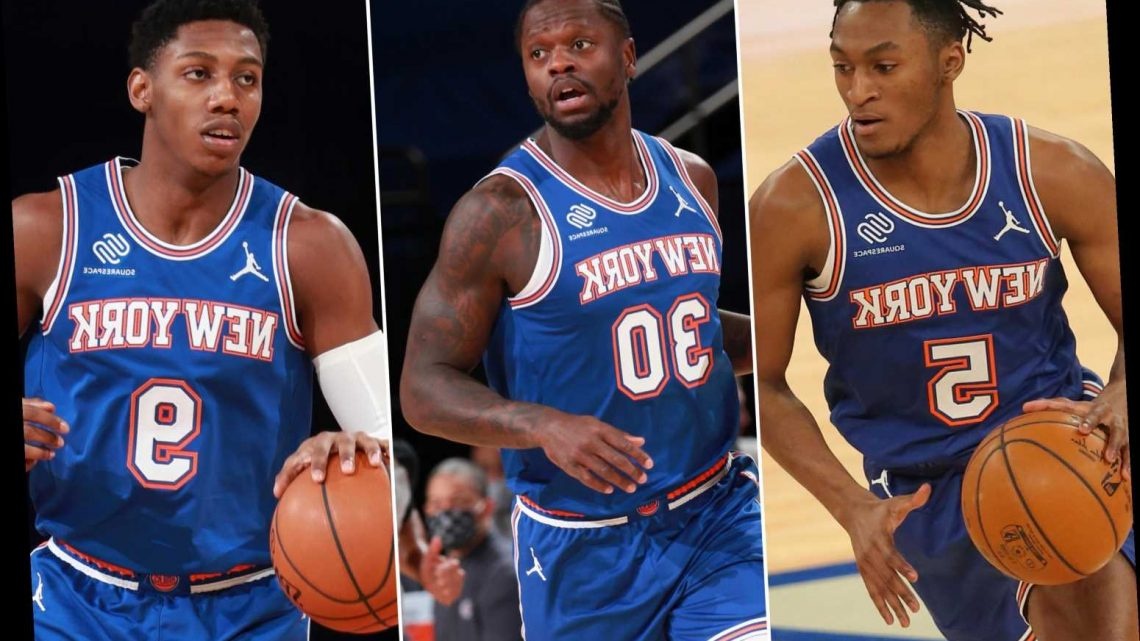 The Knicks may soon have their own Big 3