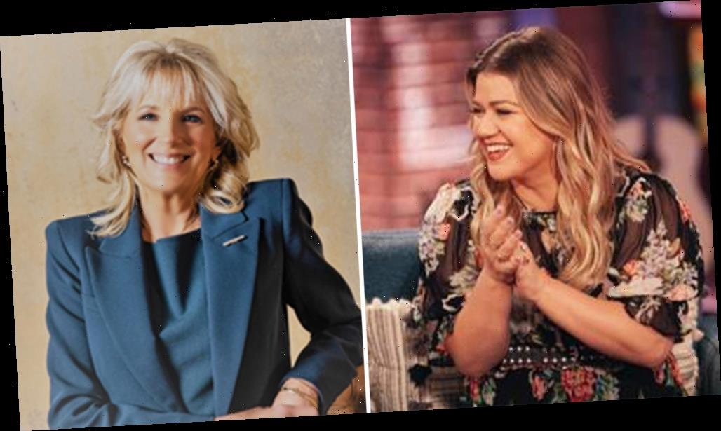 Kelly Clarkson To Sit Down With Jill Biden For First Solo Broadcast Interview Since Becoming First Lady