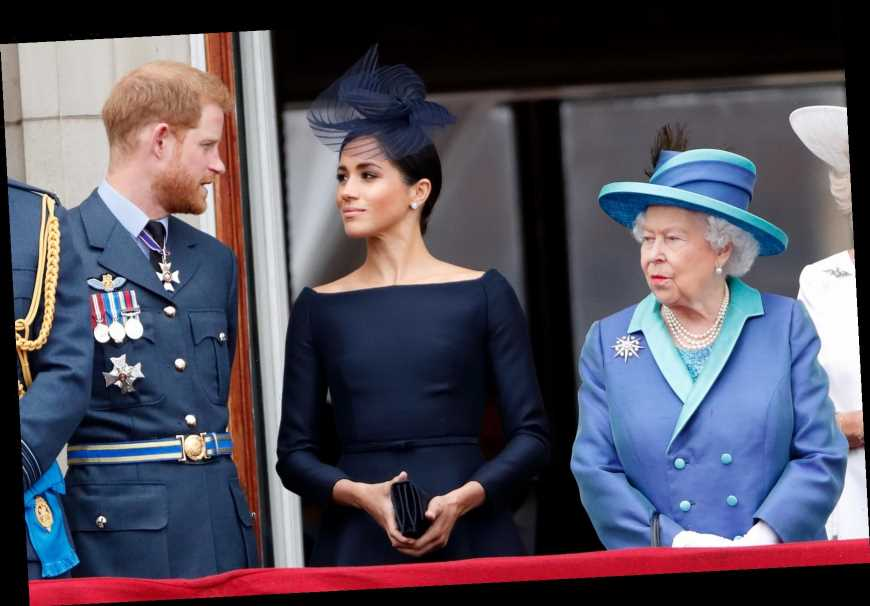 Meghan Markle and Prince Harry stripped of Royal titles and won't return to any duties leaving Queen 'saddened'