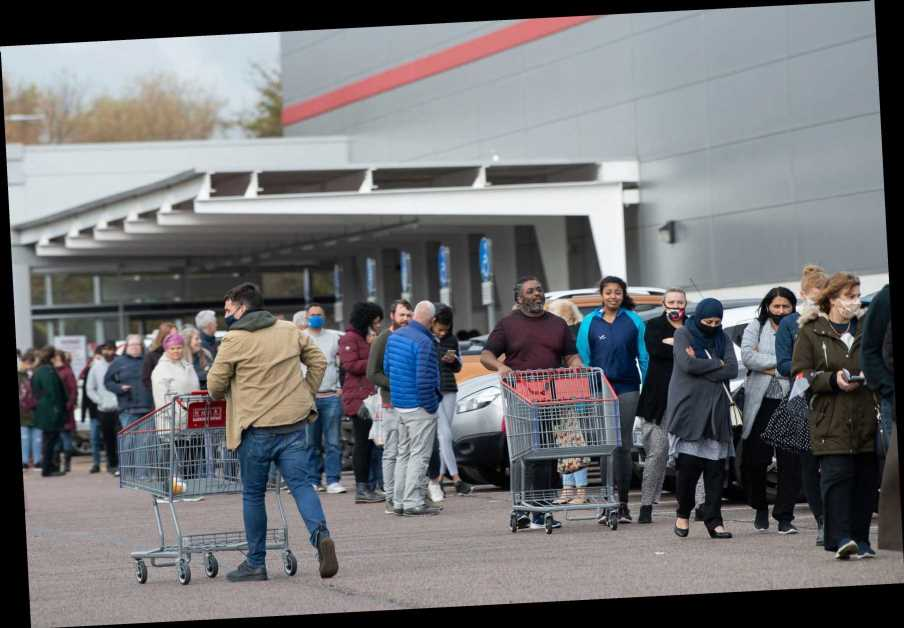 Supermarket worker slams 'selfish' couples who refuse to shop alone despite Covid rules