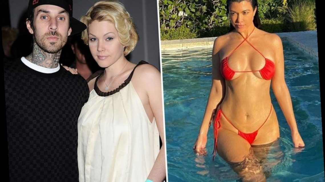 Travis Barker's ex-wife Shanna Moakler likes comment claiming he 'downgraded big time' with Kourtney Kardashian