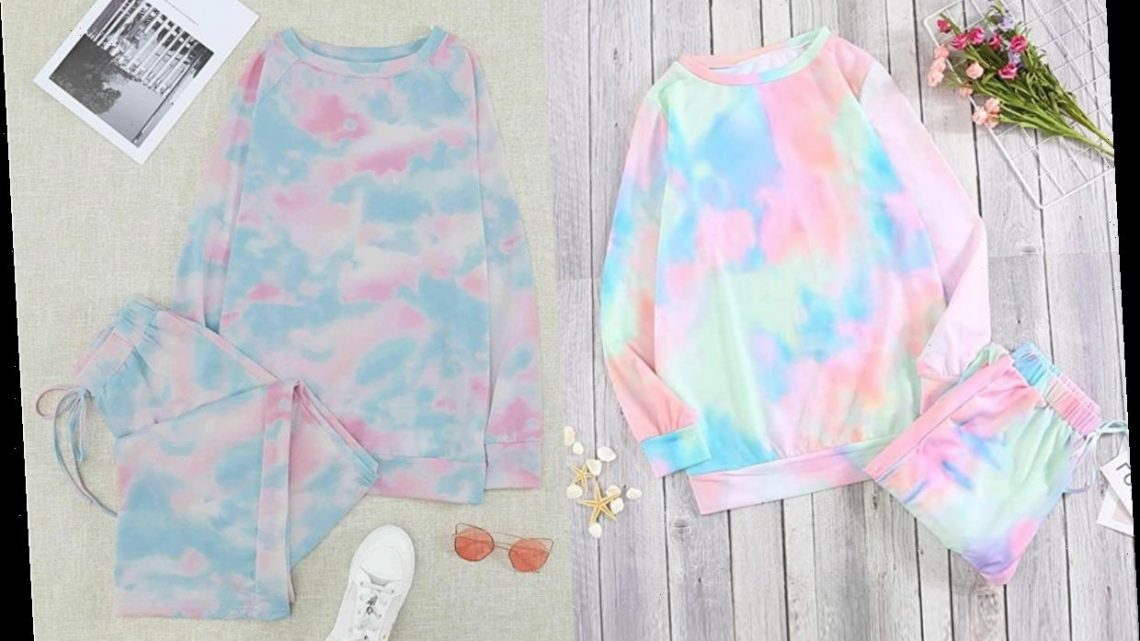 These Colorful Tie-Dye Pajama Sets Will Instantly Brighten Your Closet