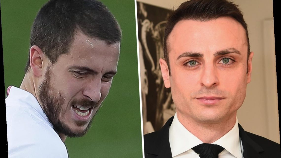 Real Madrid 'should consider selling Eden Hazard' as injured £130m ex-Chelsea ace 'yet to prove anything', says Berbatov