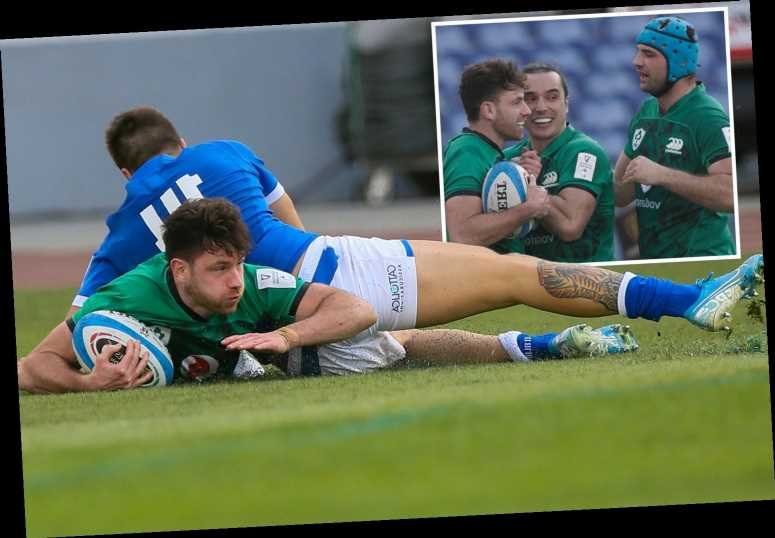 Italy 10 Ireland 48: Johnny Sexton inspires as Irish demolish hosts to earn first Six Nations win