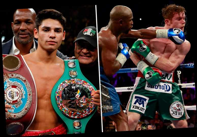 Prime Canelo Alvarez would have KO'd Floyd Mayweather at his best, says Garcia as he slams Money for flaunting cash