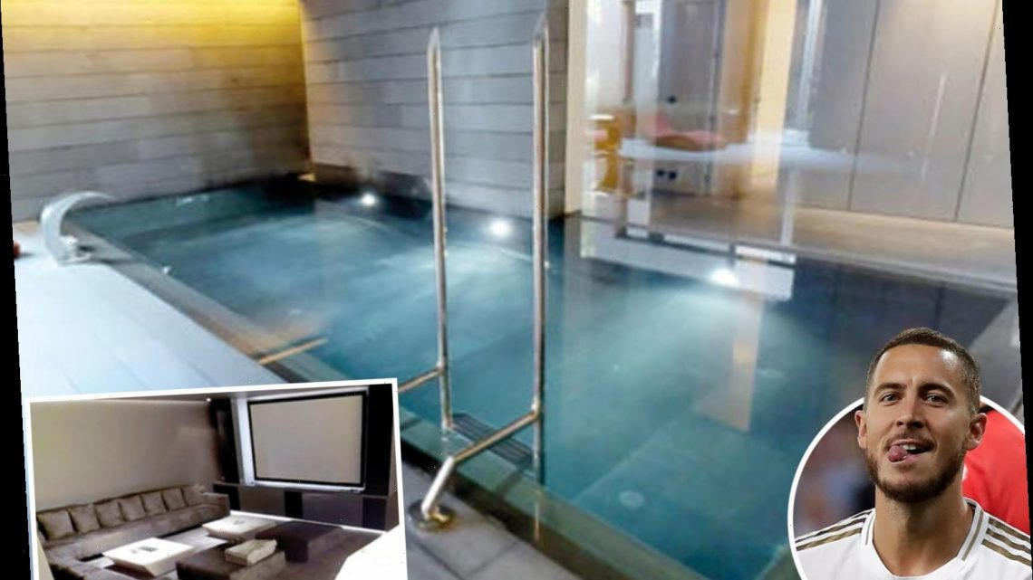 Inside Eden Hazard's amazing futuristic £10m mansion with six bedrooms and a pool he bought from a Spanish pop star – The Sun