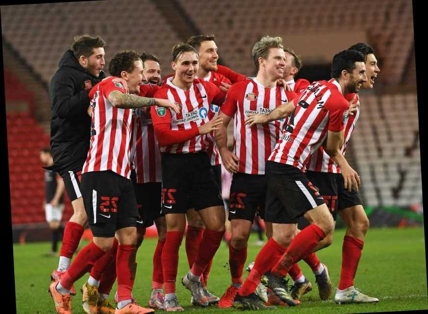 Sunderland secure third Wembley trip inside two years as Grant Leadbitter seals EFL Trophy shoot-out win over Lincoln
