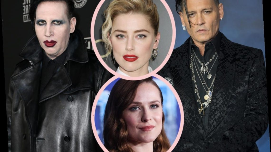 Amber Heard Reacts To Marilyn Manson Allegations, Connects Them To Johnny Depp