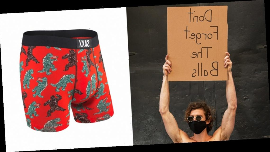 Why Dude With Sign's Favorite Underwear Brand SAXX Is Breaking the Internet