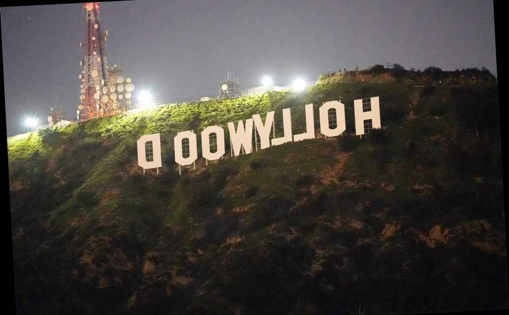 Pranksters change Hollywood sign to 'Hollyboob'