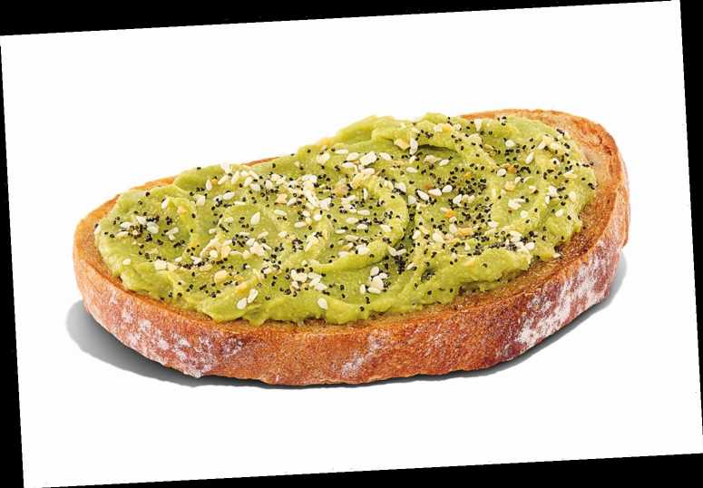 Dunkin' Now Sells Avocado Toast at All U.S. Locations