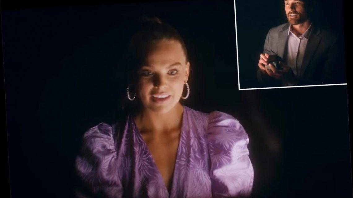Hannah Brown's Boyfriend Adam Woolard Proposes to Her in Jordan Davis' New Music Video