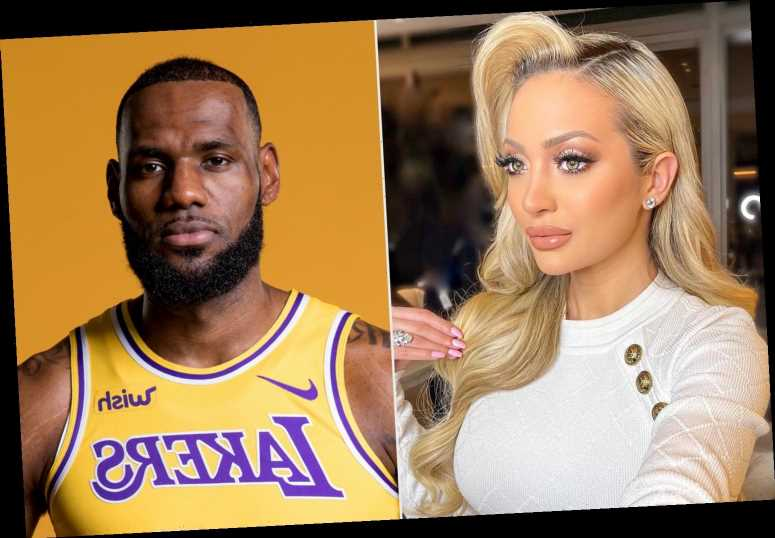 Influencer Who LeBron James Dubbed 'Courtside Karen' Apologizes After Yelling During Lakers-Hawks Game