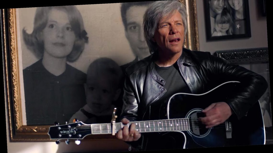 Jon Bon Jovi Honors His Family in 'Story of Love' Video