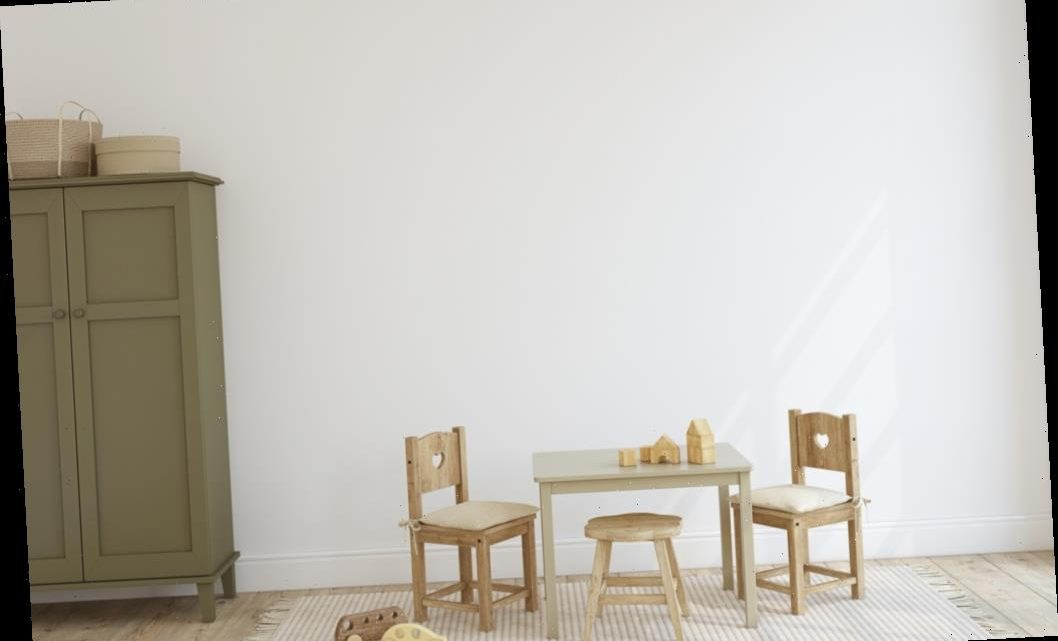 Give Your Kids a Place to Play with These Wooden Table and Chair Sets