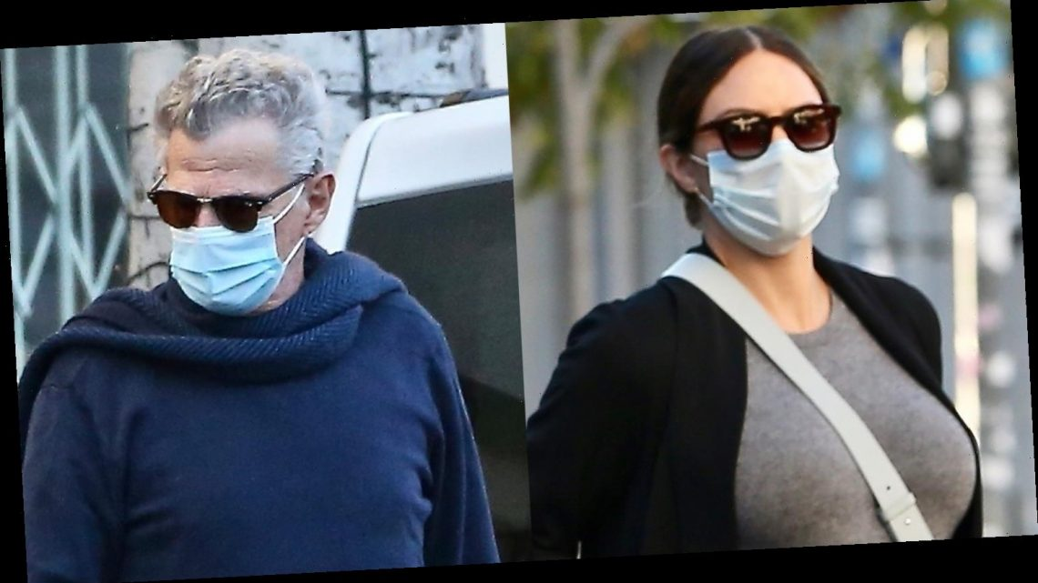 Pregnant Katharine McPhee & Husband David Foster Couple Up for Lunch Date