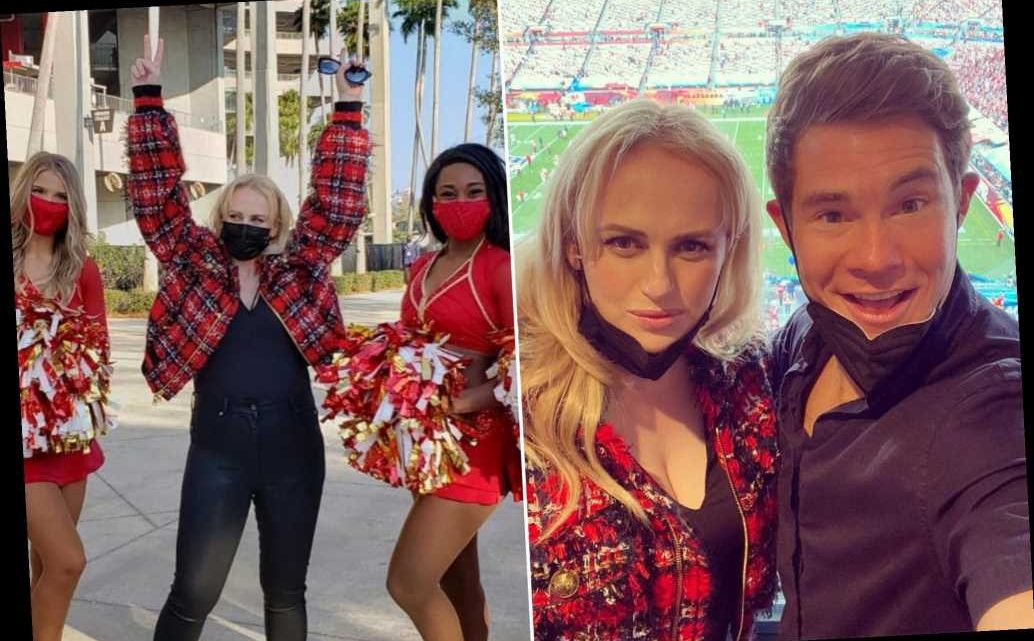 Newly single Rebel Wilson living her best life at Super Bowl 2021