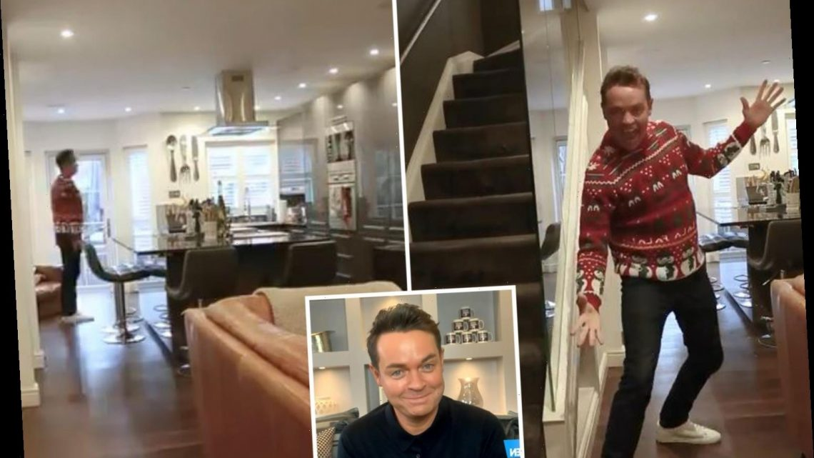Inside Stephen Mulhern's chic London home as he gives fans a tour ahead of Saturday Night Takeaway's return