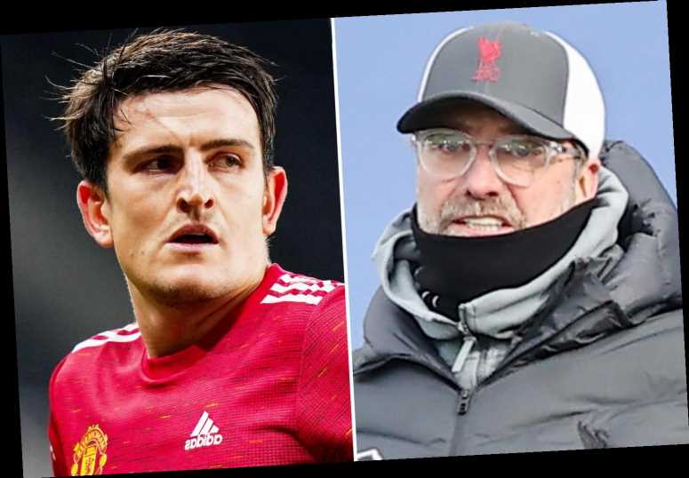 Man Utd captain Harry Maguire makes thinly-veiled dig at Jurgen Klopp after saying VAR 'has given them NOTHING'