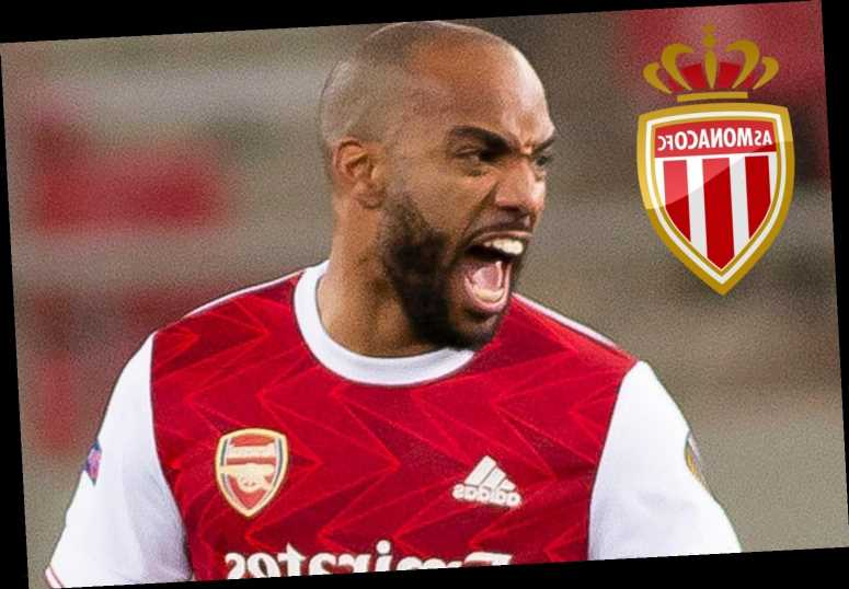 Arsenal star Alexandre Lacazette eyed by Monaco in summer transfer with future in doubt and contract running down