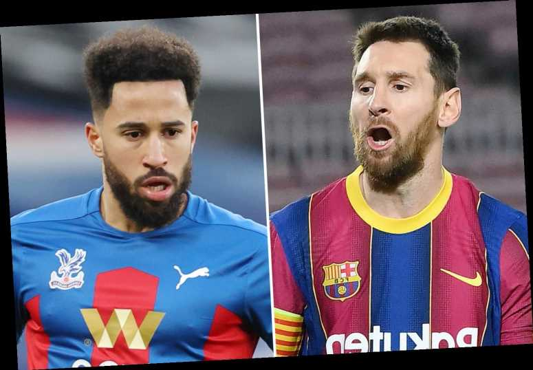 Andros Townsend snubs Lionel Messi, Cristiano Ronaldo and Robert Lewandowski as he names his three best players in world