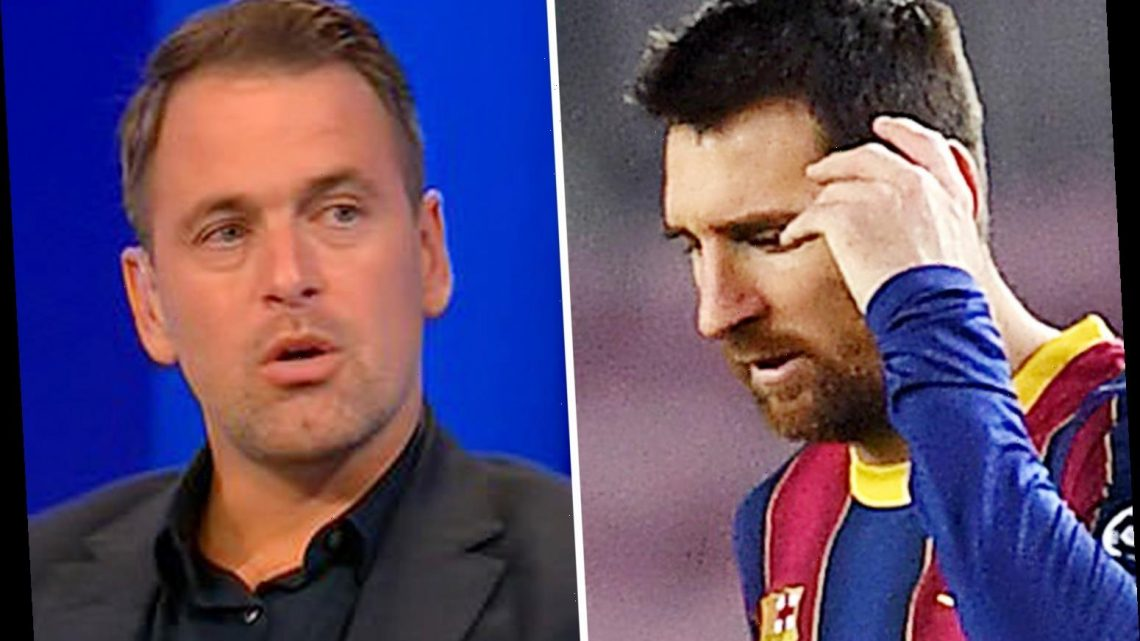 Lionel Messi looked 'disinterested' and Man City transfer would be GAMBLE after Barcelona thrashing, claims Joe Cole