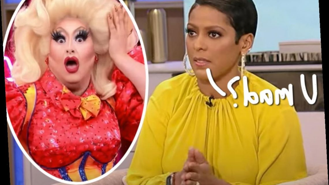 Drag Race Stars Call Out Tamron Hall For Interviewing Admitted Predator Sherry Pie – Wait Until You See This Defense!
