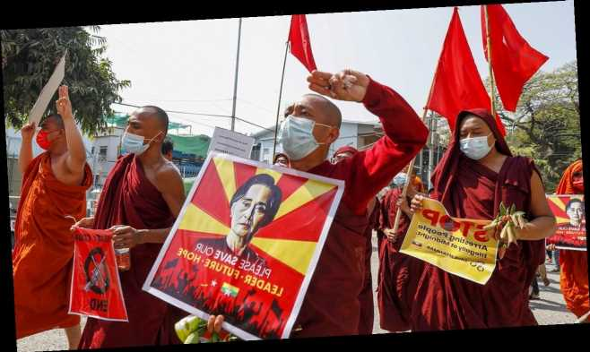 Burma police file new charge against Aung San Suu Kyi