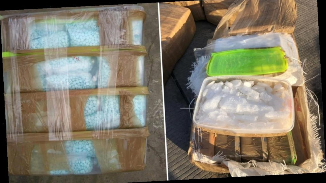 Mexican drug traffickers accused of trying to smuggle 2 tons of narcotics into US