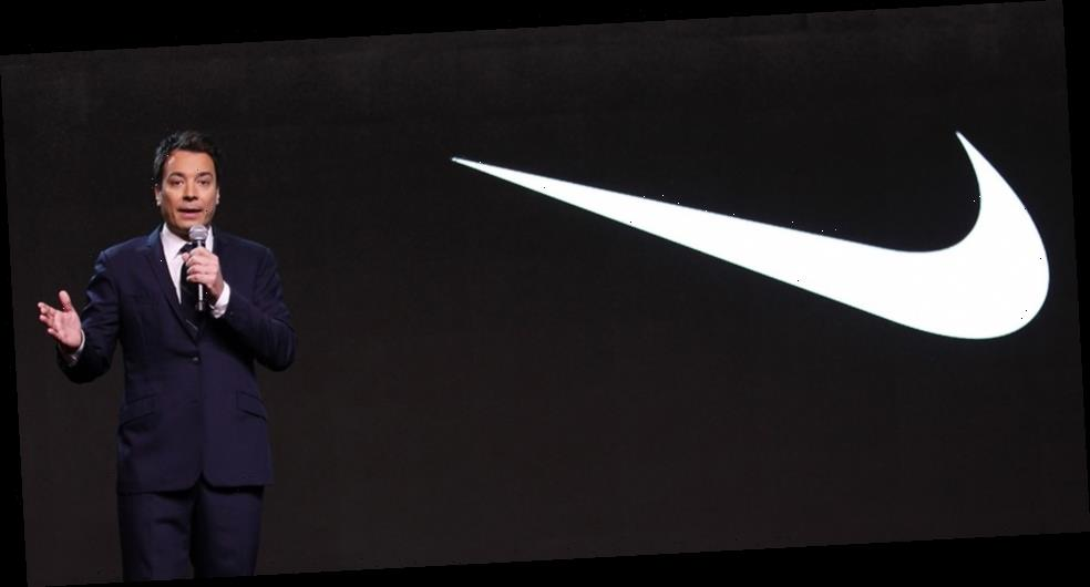 """Jimmy Fallon Reveals 2019 Sneaker Pitch to Nike For Easy-Entry Shoe Called the """"StepLock"""""""