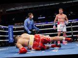 Saul 'Canelo' Alvarez dispatches Avni Yildrim inside three rounds to defend world titles