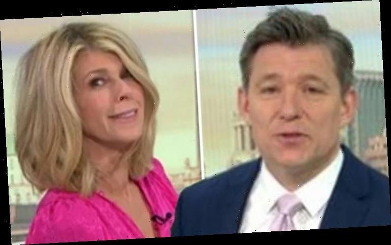 GMB's Kate Garraway tells Ben off for 'lip filler' remark 'Don't need controversy!'