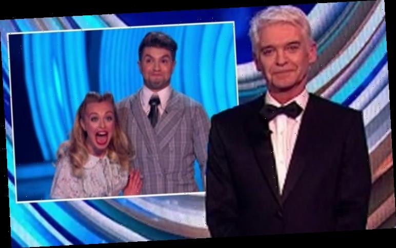 Phillip Schofield scolded after Dancing On Ice final name blunder: 'It's Angela!'