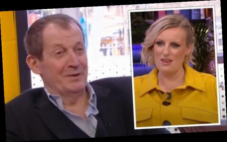 Alastair Campbell admits he's NEVER worn deodorant leaving Packed Lunch studio gobsmacked