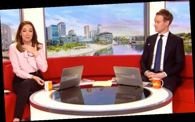 Dan Walker calls Sally Nugent 'unprofessional' as she replaces Louise on BBC Breakfast