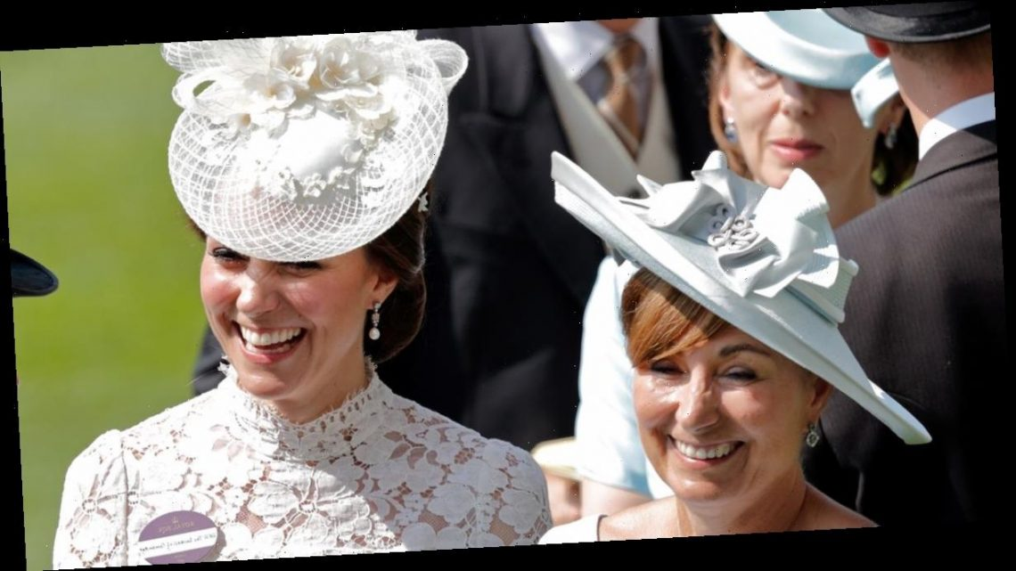 Kensington Palace shares unseen childhood photo of Kate Middleton and her mum Carole