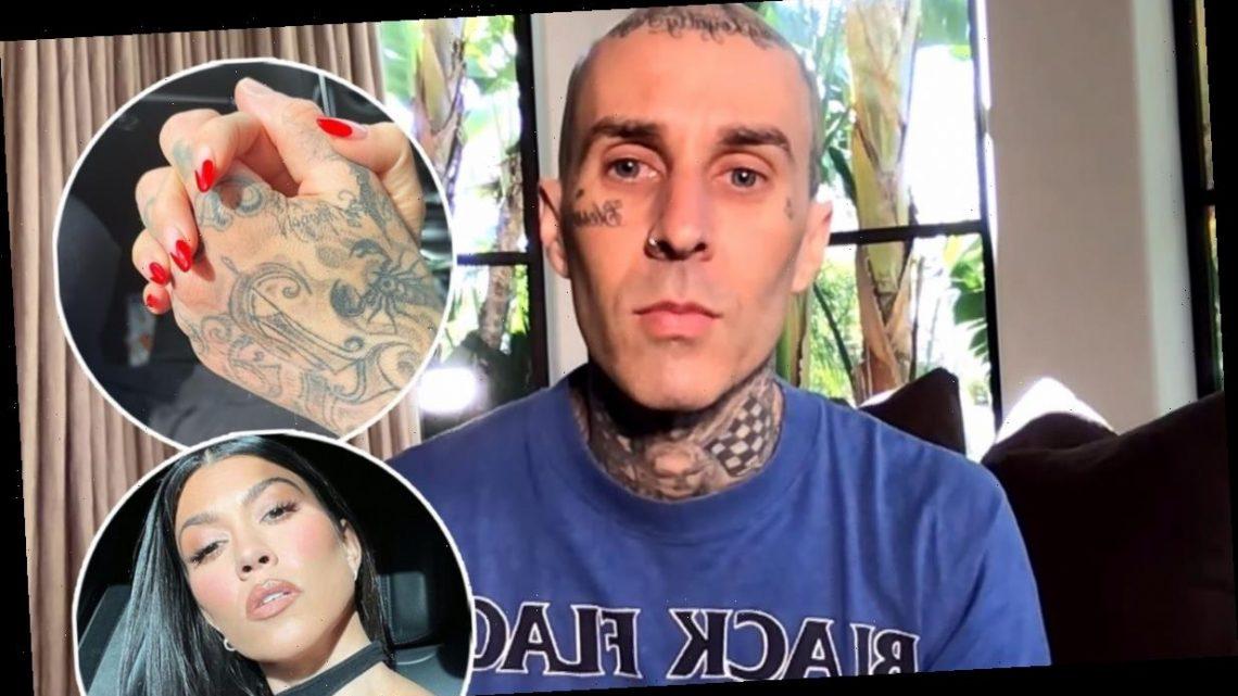 Travis Barker Praises 'Great Mom' Kourtney Kardashian, Reacts to That Love Note
