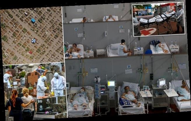 As daily deaths near 4,000, worst may lie ahead for Brazil