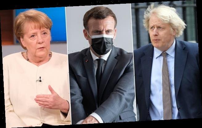 Johnson, Merkel and Macron declare world needs a post-Covid treaty