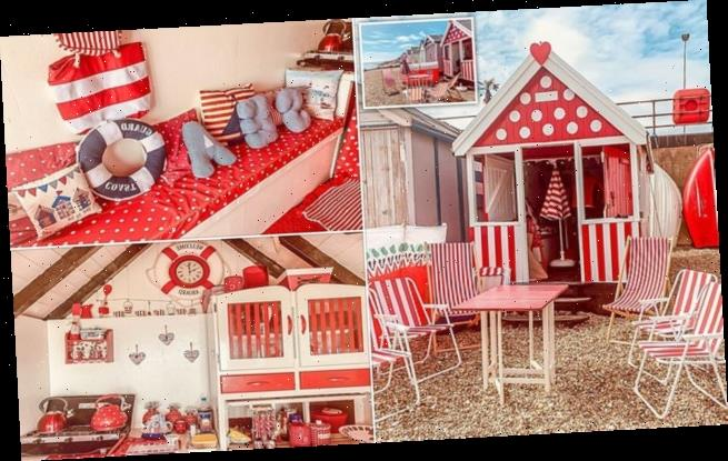 Essex beach hut no bigger than a garden shed goes on sale for £70,000