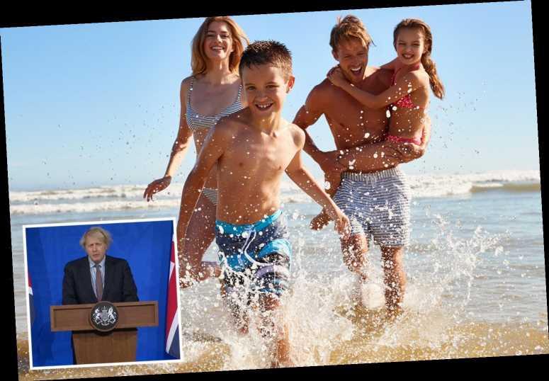 Boris Johnson confirms he will make big summer holiday announcement next week