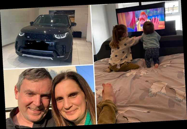 Mum-of-22 Sue Radford shows off new double bed with a built-in TV just a week after she was gifted a £30k Range Rover
