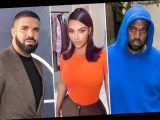 Drake fans convinced he's claiming he 'slept with Kim Kardashian behind Kanye West's back' in new track on Scary Hours