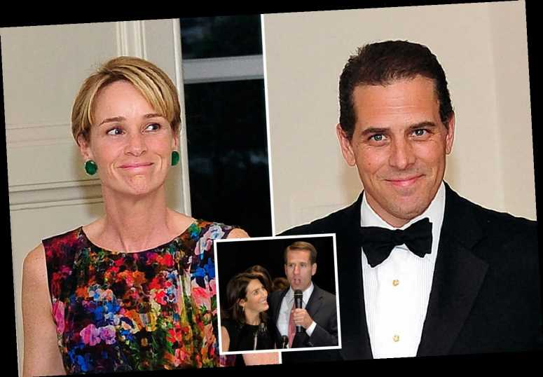 Hunter Biden's ex-wife finding messages to his brother's widow was the 'final straw' before divorce, book reveals