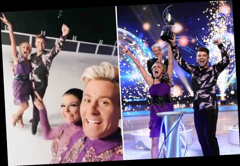 Dancing on Ice mystery as Matt Evers reveals Sonny Jay won in Instagram post ten minutes BEFORE the live show