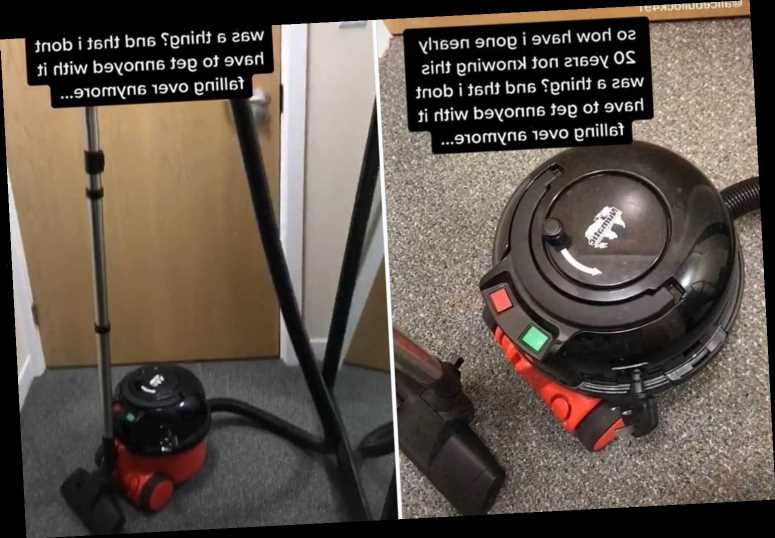 Cleaning fan discovers 'secret' Henry Hoover hack that'll stop the handle falling over