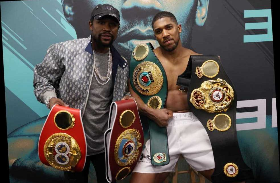 How Floyd Mayweather took Anthony Joshua under his wing in Las Vegas and is ready to work with him for Tyson Fury bout