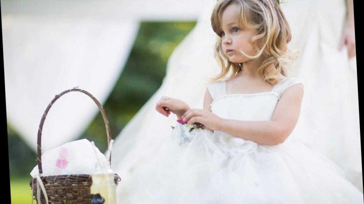 Bridezilla BANS 'disrespectful' flower girl from wearing tiara at wedding as it'll 'steal attention away'