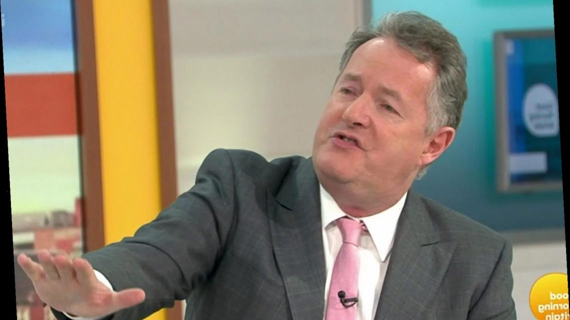 Piers Morgan reveals the first application for his GMB job came in just 17 minutes after he'd quit