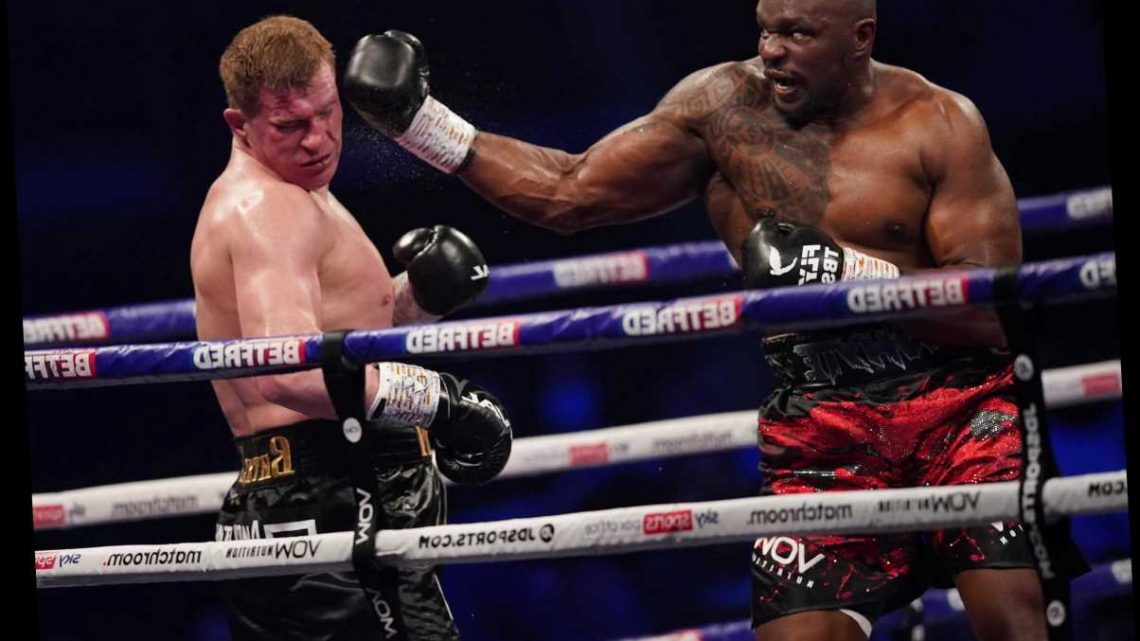 Dillian Whyte could fight in the US this summer – with 'colossal' Deontay Wilder bout on the cards, says Eddie Hearn